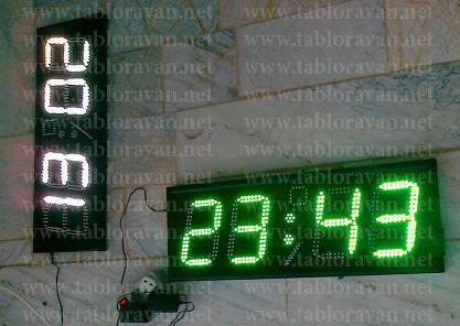 فروش انواع ساعت های دیجیتال بزرگ در اصفهان  (LED) مناسب با سلیقه شما ! حرم امام رضا علیه السلام