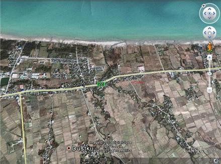 فروش زمین در رودسر کناره ساحلی 200 متر
