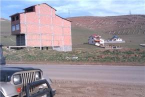 فروش زمین در چالوس کلاردشت 100 متر