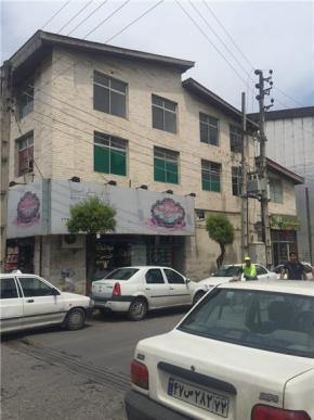 فروش ملک اداری در نوشهر خیابان فردوسی 620 متر