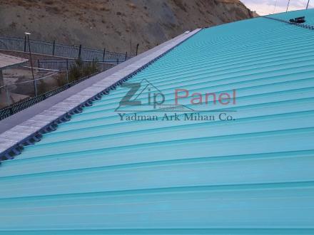 سیستم پله و راهرو زیپ پانل - فروش انواع پوشش سقف در تبریز