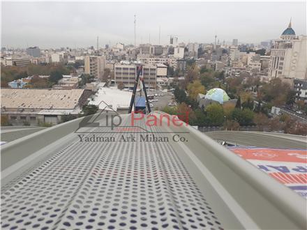 نورگیر پوشش سقف سوله ها - فروش انواع پوشش سقف در تبریز