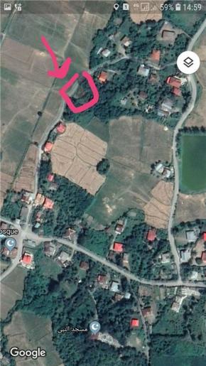 فروش زمین در شفت دوبخشر 620 متر