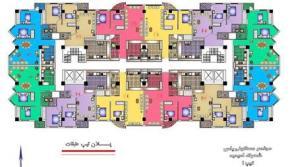 پیش فروش آپارتمان در تبریز 3 راهی اهر 92 متر