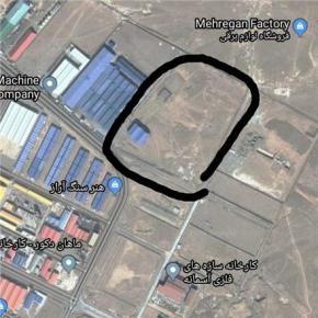 فروش زمین در شهرک صنعتی شمس آباد تهران  80000 متر