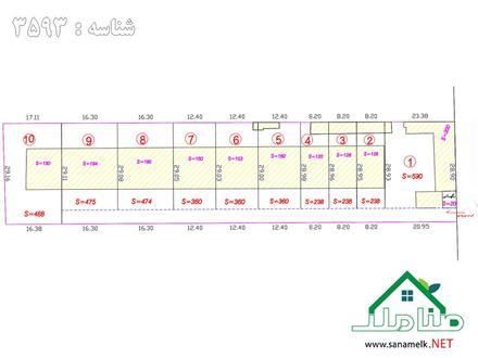 فروش زمین در شهریار شهریار  240 متر