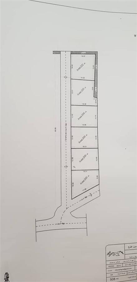 فروش زمین در سرخرود سرخرود 200 متر